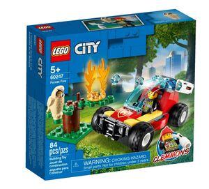 LEGO City Šumski požar 60247