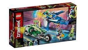 LEGO Ninjago Jureći trkači Jaya i Lloyda 71709