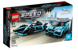 LEGO Speed Champions Formula E Panasonic Jaguar Racing GEN2 c 76898