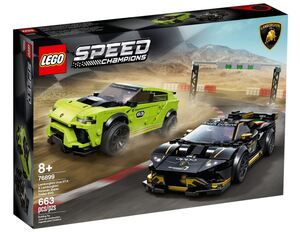 LEGO Speed Champions Lamborghini Urus ST-X & Lamborghini Hura 76899