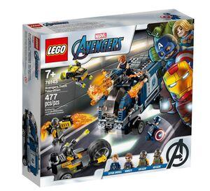LEGO Super Heroes Osvetnici: uništenje kamiona 76143