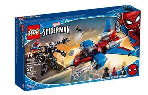 LEGO Super Heroes Spiderjet protiv mehaničkog Venoma 76150