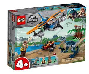 LEGO 75942 Velociraptor: spasilačka misija u dvokri