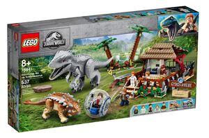 LEGO 75941 Indominus rex protiv Ankylosaurusa