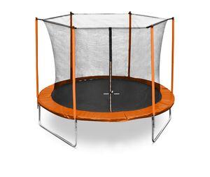 LEGONI trampolin FUN sa zaštitnom mrežom i ljestvama, 305cm-narančasti