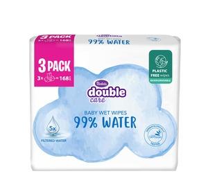 Violeta baby vlažne maramice 3x56 kom Sensitive Care, 99% voda