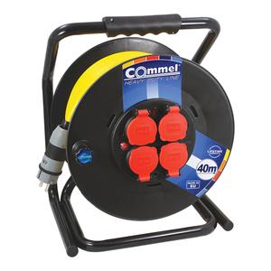 COMMEL kabelska motalica na PVC bubnju 300 mm, AT N07V3V3-F 3G1,5 / 30 m