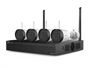 IMOU set snimač NVR1104HS i 4 kamere IMOU Bullet Lite 2MP G22P-0280B, HDD 1TB