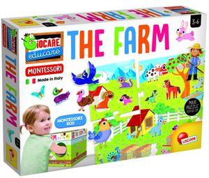 Montessori puzzle farma