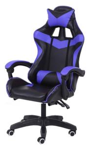 Neon Battle Station II gaming stolica, crno/plava
