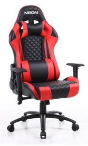 Neon Warrior gaming stolica, crno/crvena