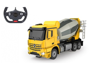 Jamara kamion na daljinsko upravljanje, miješalica Mercedes Arocs, žuti, 1:24*