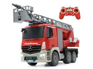 Jamara kamion na daljinsko upravljanje, vatrogasni Mercedes Antos, crveni 1:20*