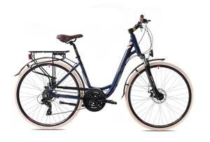 CAPRIOLO gradski bicikl ELEGANCE LADY tamno plavi