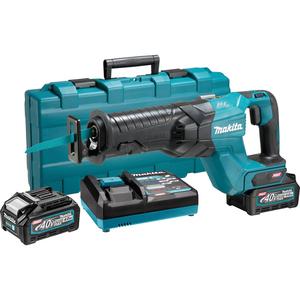 MAKITA akumulatorska sabljasta pila XGT JR001GM201 (40Vmax, Li-ion, 2x4,0Ah) brushless motor