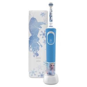 Oral-B električna četkica D100 FROZEN+ torbica
