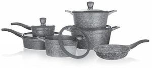BANQUET Granite Grey set lonaca 11/1