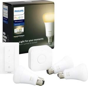 Philips HUE starter kit 3, white ambiance, E27, BT