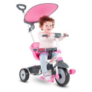 Smart trike 3250233 tricikl 3 u 1 charm rozi