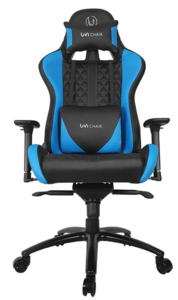 UVI CHAIR Gaming stolica Gamer Blue