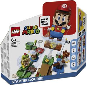 LEGO Super Mario Pustolovine na stazi Mario Starter 71360