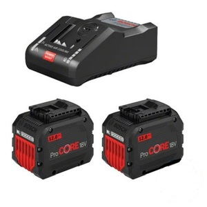 BOSCH Professional set 2x ProCORE18V 12.0Ah baterija + GAL 18V-160 C punjač + torba