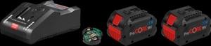 BOSCH Professional set 2x ProCORE18V 8.0Ah baterija + GAL 18V-160 C punjač