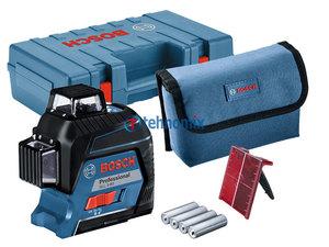 BOSCH Professional križni laserski nivelir GLL 3-80 (4AA) + cilj. ploča + torba + kovčeg