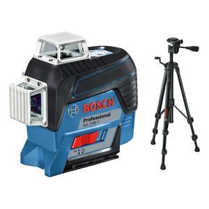 BOSCH Professional GLL 3-80 C križni laserski nivelir (4AA, AA1, CP, torba, BT 150)