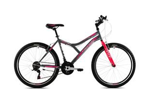 CAPRIOLO bicikl MTB DIAVOLO 600 /18HT sivo/rozi