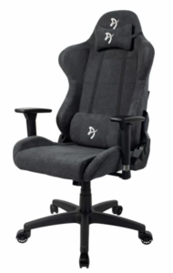 Arozzi Torretta Gaming stolica, meka tkanina - tamno siva