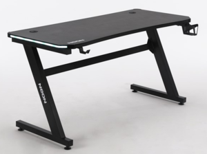NEON Gaming stol eSports Gamer Elite, LED RGB, držač za čašu, držač za slušalice, držač za gamepad, 136cm
