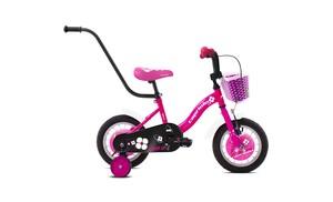 CAPRIOLO dječji bicikl BMX 12'HT VIOLA bijelo/roza