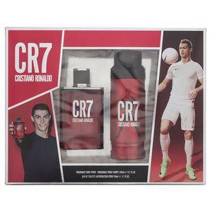 Cristiano Ronaldo Cr7 EDT Gift Set : EDT 50 ml - Fragrance Body Spray 150 ml, muški poklon set