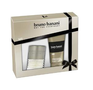 Bruno Banani Not For Everybody Man EDT Gift Set : EDT 30 ml - Shower Gel 50 ml, muški poklon set