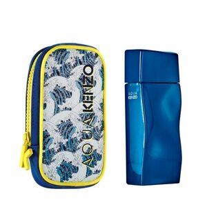 Kenzo Aqua Pour Homme Neo Edition EDT Gift Set : EDT 50 ml -  Pouch, muški poklon set