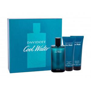 Davidoff Cool Water 3 Piece EDT 125 ml Aftershave Balm 75 ml Shower Gel 75 ml, muški poklon set