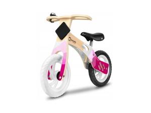 """Lionelo dječji bicikl drveni - guralica Willy 12"""", rozi"""