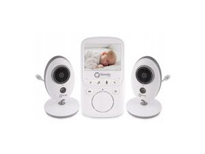 Lionelo dječji video monitor BabyLine 5.1, 2xkamera, 8 uspavanki, domet do 300m