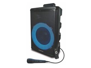 MANTA karaoke FM, disco svjetlosni efekti, daljinski, mikrofon, baterija SPK5030