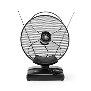 NEDIS sobna antena HDTV, 0-25 km, Gain 30-36 dB, FM/VHF/UHF,DAB, aktivna