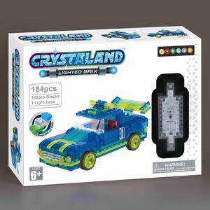 Crystaland kockice za slaganje Auto