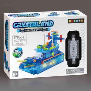 Crystaland kockice za slaganje Patrolni brod