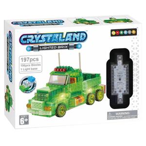 Crystaland kockice za slaganje Kamion