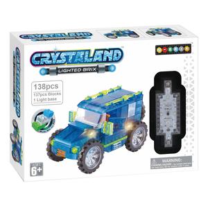 Crystaland kockice za slaganje Džip