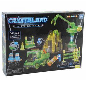 Crystaland kockice za slaganje Rudnik
