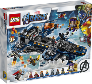 LEGO Super Heroes Osvetnici: nosač helikoptera 76153