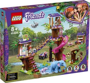 LEGO 41424 Spasilačka baza u džungli