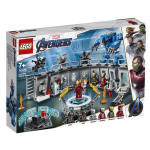 LEGO Super Heroes Dvorana Oklopa Iron Mana 76125