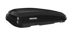 Menabo DIAMOND 450 ABS BLACK krovna kutija
